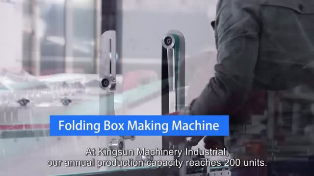 Folding Box Making Machine