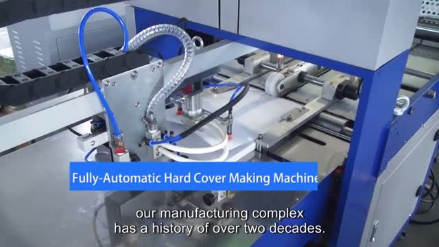 Fully-Automatic Hard Cover Making Machine